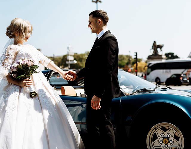 Carros para casamentos em Portugal