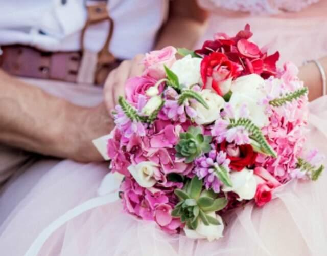 Flores para casamentos Açores