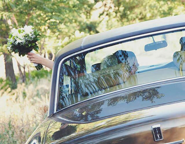 Transporte para noivos e convidados Leiria