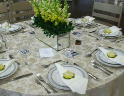 Five Star Wedding Planners, Catering